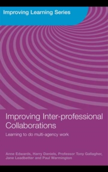 Improving Inter-professional Collaborations : Multi-Agency Working for Children's Wellbeing, PDF eBook