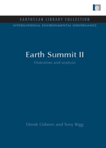 Earth Summit II : Outcomes and Analysis, PDF eBook