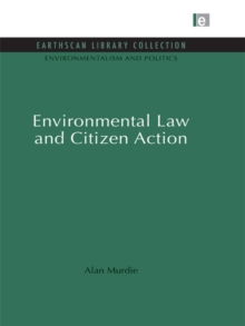 Environmental Law and Citizen Action, PDF eBook
