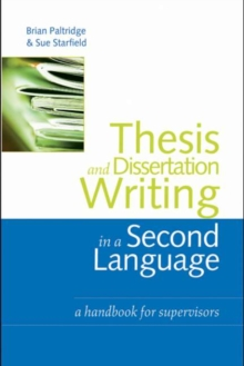 Dissertation and thesis database handbook