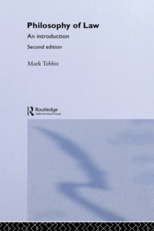 Philosophy of law an introduction mark tebbit 9781134313785 philosophy of law fandeluxe Gallery