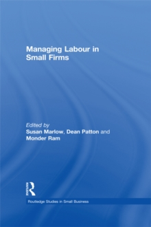 Managing Labour in Small Firms, EPUB eBook