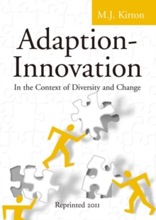 Adaption-Innovation : In the Context of Diversity and Change, EPUB eBook