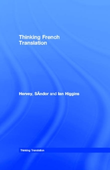 Thinking French Translation, PDF eBook