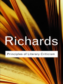 Principles of Literary Criticism, PDF eBook