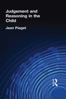 Judgement and Reasoning in the Child, EPUB eBook