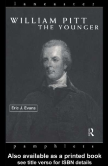 William Pitt the Younger, PDF eBook