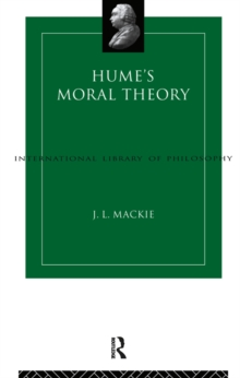 Hume's Moral Theory, EPUB eBook