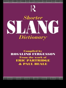 Shorter Slang Dictionary, EPUB eBook