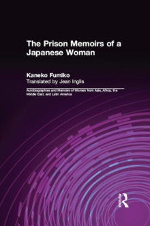 The Prison Memoirs of a Japanese Woman, PDF eBook