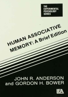 Human Associative Memory, PDF eBook
