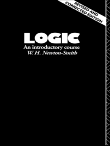 Logic : An Introductory Course, EPUB eBook