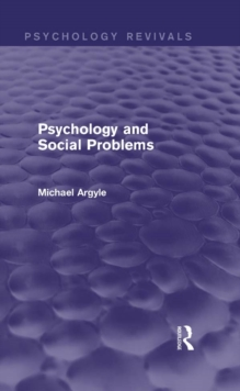 Psychology and Social Problems (Psychology Revivals), EPUB eBook