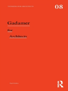Gadamer for Architects, EPUB eBook