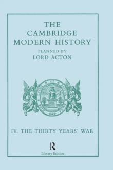 The Cambridge Modern History : Modern History 13 Vl, PDF eBook