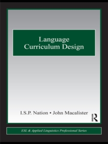 Language Curriculum Design, EPUB eBook