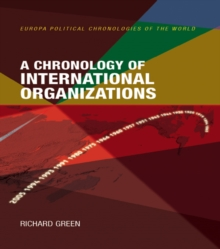 A Chronology of International Organizations, EPUB eBook