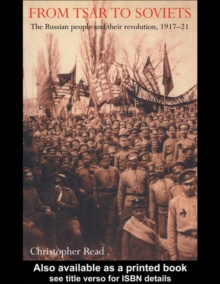 From Tsar To Soviets, EPUB eBook