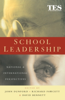 School Leadership : National and International Perspectives, PDF eBook