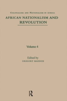 African Nationalism and Revolution, EPUB eBook