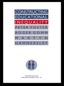 Constructing Educational Inequality : A Methodological Assessment, PDF eBook