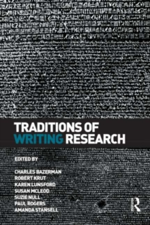 Traditions of Writing Research, PDF eBook