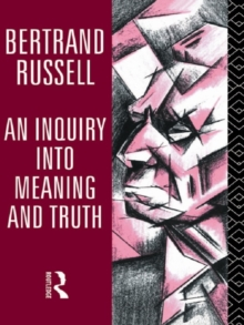 An Inquiry into Meaning and Truth, PDF eBook