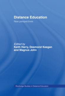 Distance Education: New Perspectives, PDF eBook