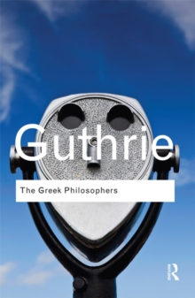 The Greek Philosophers : from Thales to Aristotle, EPUB eBook