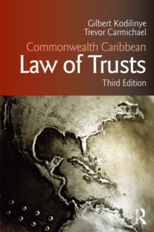 Commonwealth Caribbean Law of Trusts : Third edition, EPUB eBook