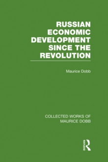 Russian Economic Development Since the Revolution, PDF eBook