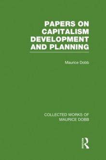 Papers on Capitalism, Development and Planning, PDF eBook