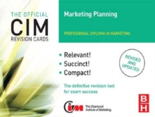CIM Revision Cards Marketing Planning, EPUB eBook