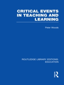 Critical Events in Teaching & Learning, PDF eBook