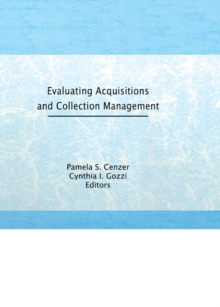 Evaluating Acquisitions and Collection Management, PDF eBook