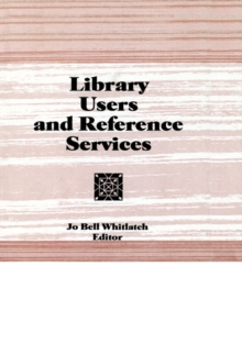 Library Users and Reference Services, PDF eBook