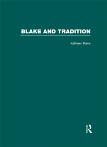 Blake and Tradition, PDF eBook