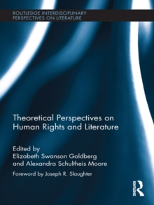 Theoretical Perspectives on Human Rights and Literature, PDF eBook