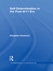Self-Determination in the Post-9/11 Era, EPUB eBook
