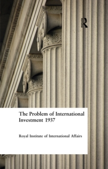 Problem International Investment, EPUB eBook