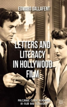 Letters and Literacy in Hollywood Film, Hardback Book