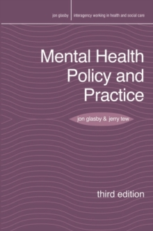 Mental Health Policy and Practice, Paperback Book