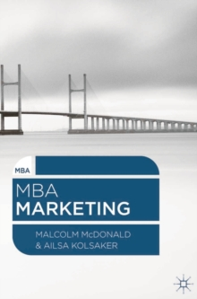 MBA Marketing, Paperback / softback Book
