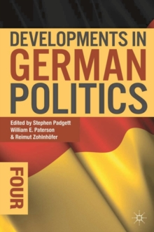 Developments in German Politics 4, Paperback Book