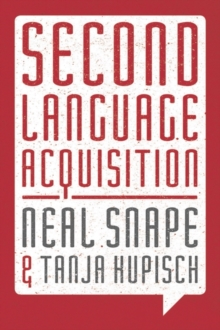 Second Language Acquisition : Second Language Systems, Paperback / softback Book