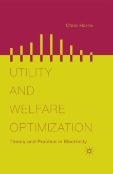 Utility and Welfare Optimization : Theory and Practice in Electricity, PDF eBook