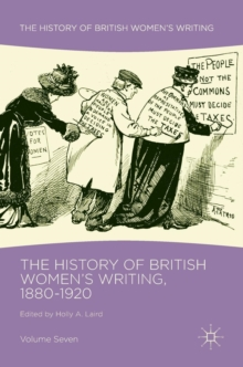 The History of British Women's Writing, 1880-1920 : Volume Seven, Hardback Book