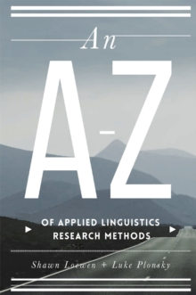 An A-Z of Applied Linguistics Research Methods, PDF eBook