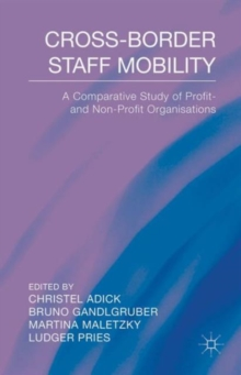 Cross-Border Staff Mobility : A Comparative Study of Profit- and Non-Profit Organisations, Hardback Book