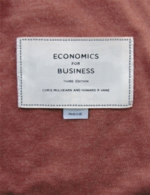 Economics for Business, Paperback Book